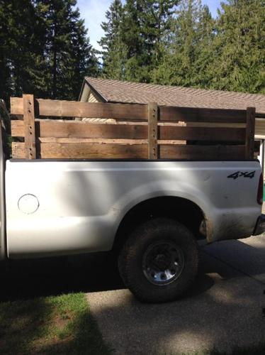 1 cord firewood rack (long box ford)