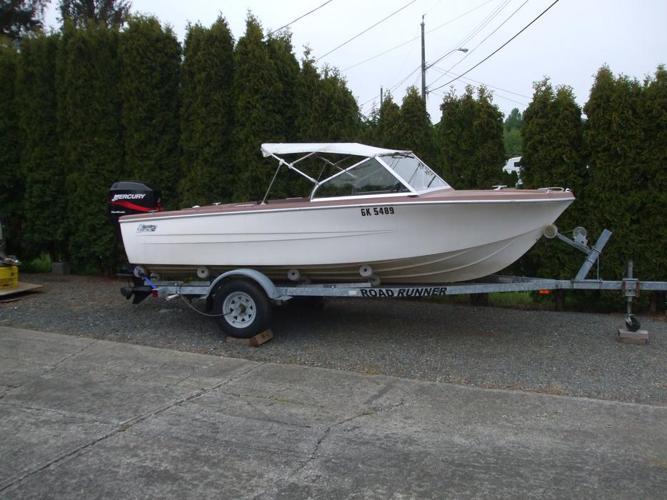 "15'6"" Boat, 50HP Motor & Trailer"