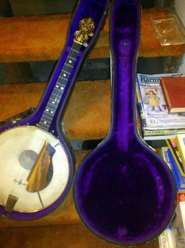 1920's Van Eps Irish Tenor Banjo w/resonator