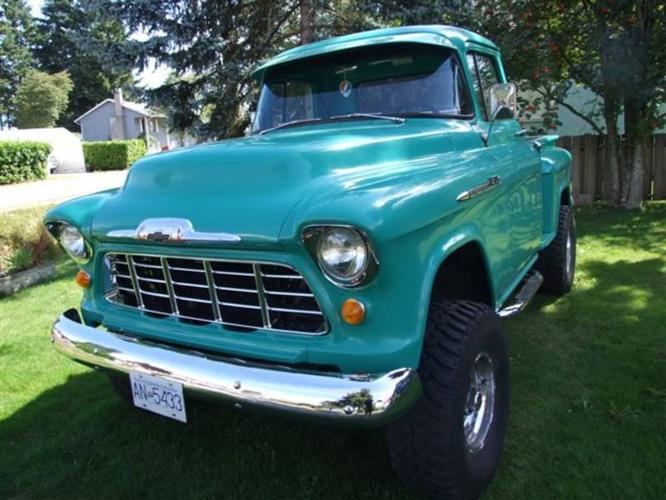 1955 Chevrolet 4x4 For Sale In Logan Lake British