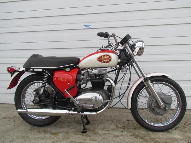 1969 BSA Lightning 650 Fully Restored Zero Km For Sale