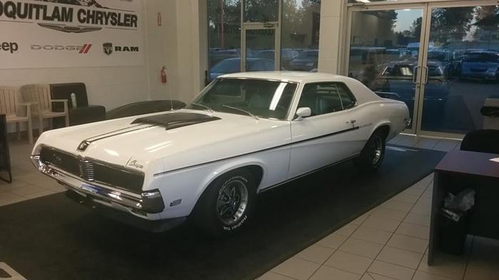 1969 Mercury Cougar ELIMINATOR Clone