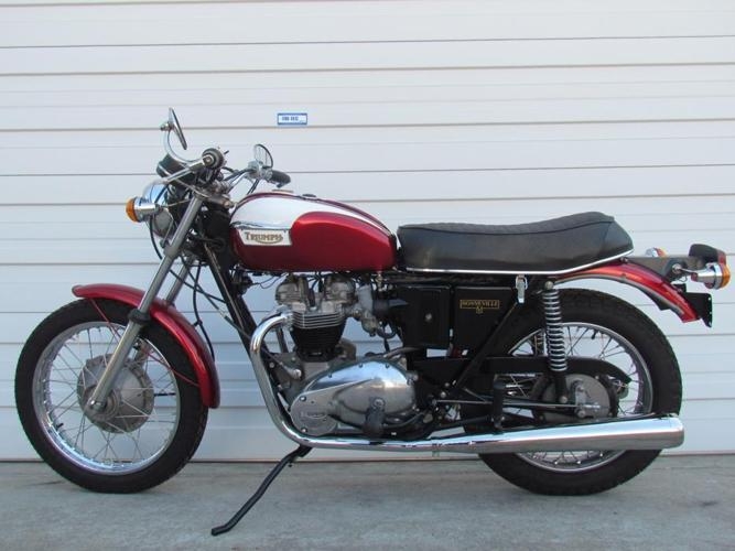 1971 T120R Classic Motorcycle Currently For Sale $10995 ZERO MILES