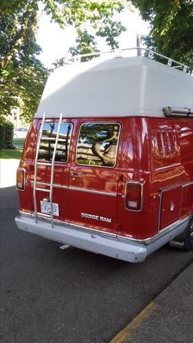 1981 Dodge Ram Camper van for sale in Victoria, British