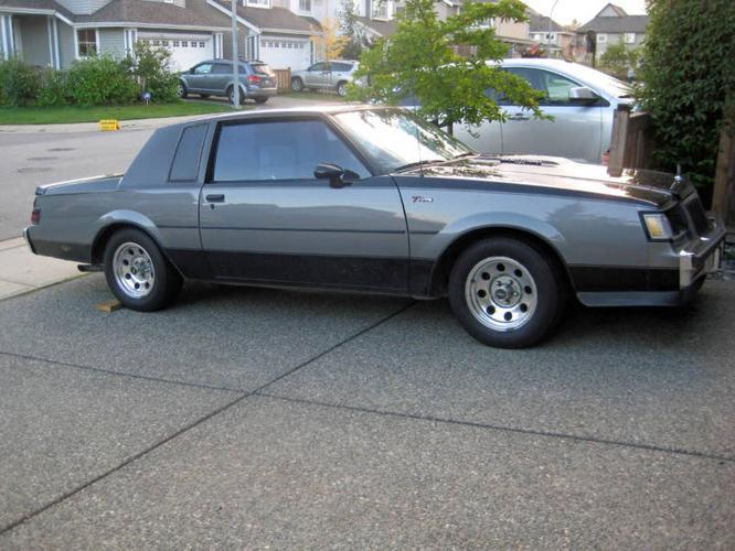 1985 buick t type for sale autos weblog. Black Bedroom Furniture Sets. Home Design Ideas