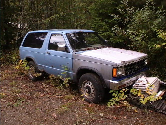 1987 Chevrolet Blazer SUV