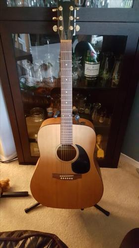 1989 Simon and Patrick 6 string Guitar