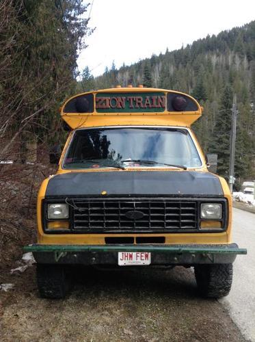 1991 Ford Short Bus NO TRANSMISSION