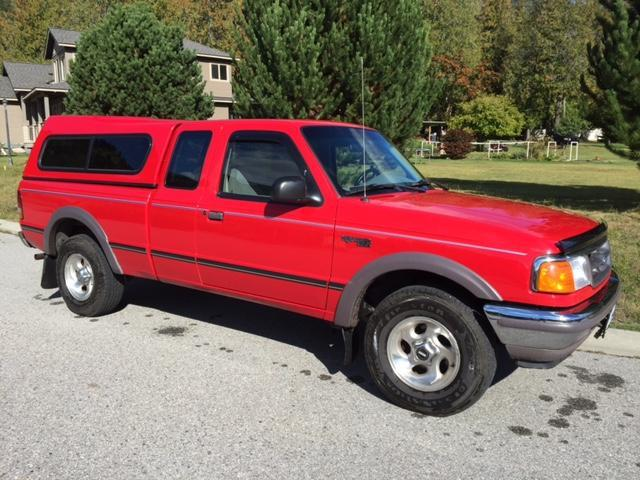1997 Ford Ranger XLT Pickup Truck