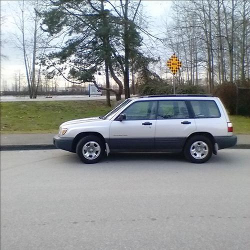 1999 Subaru Forester - Winter Tires