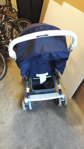2 sepate strollers