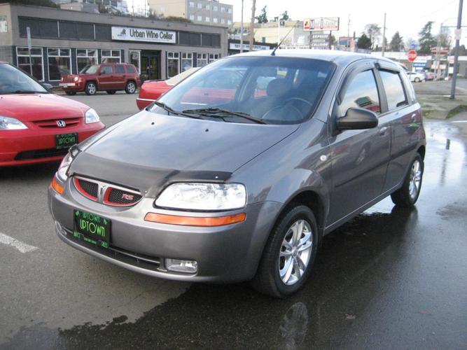 2006 Pontiac Wave-LIKE BRAND NEW. -4 cyl.-Auto.ONLY 121117Km's.