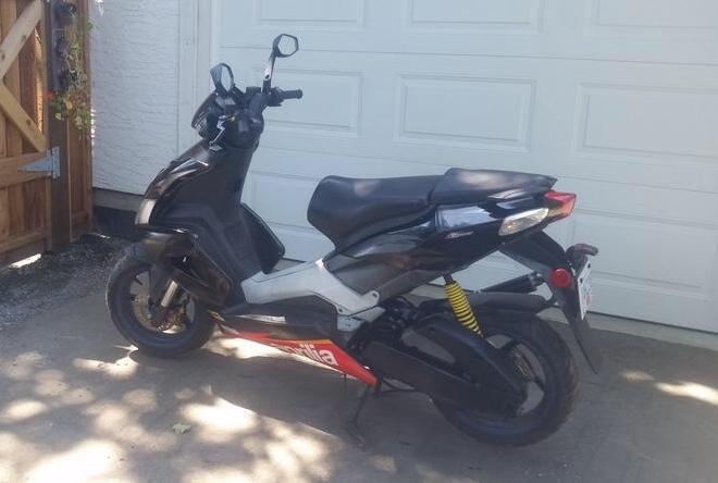 2007 APRILLIA. SR50cc scooter