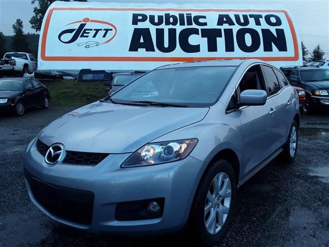 2007 MAZDA CX-7 loaded unit with heated leather seats!