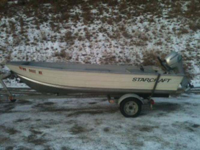 2008 starcraft 14 foot aluminum boat