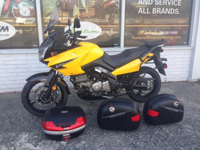 2008 Suzuki Vstrom 650 DL650 with ABS brakes and luggage