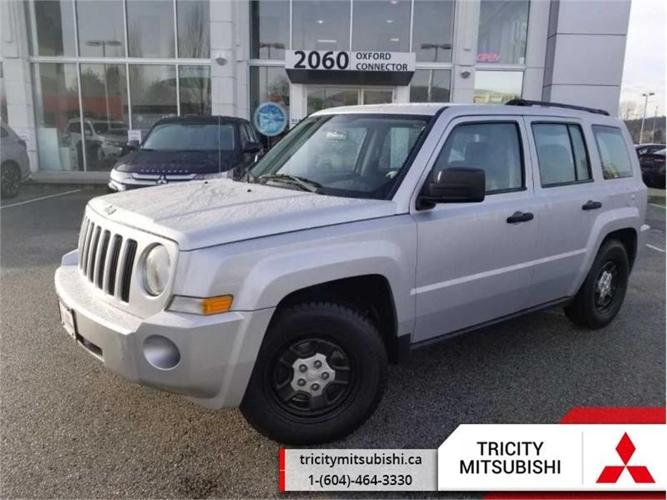 2009 Jeep Patriot SPORT  4X4-5 SPEED MANUAL