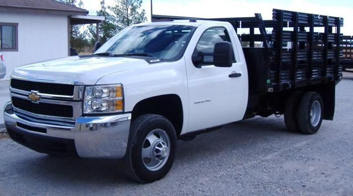 2010 Chevrolet Silverado 3500 HD Dually with Flat Deck