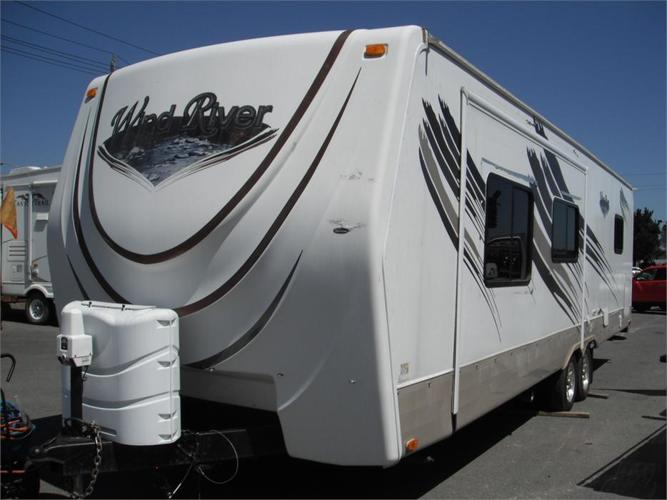 2010 Outdoors RV 280ks Wind River 28 Foot Travel Trailer 1 slide out