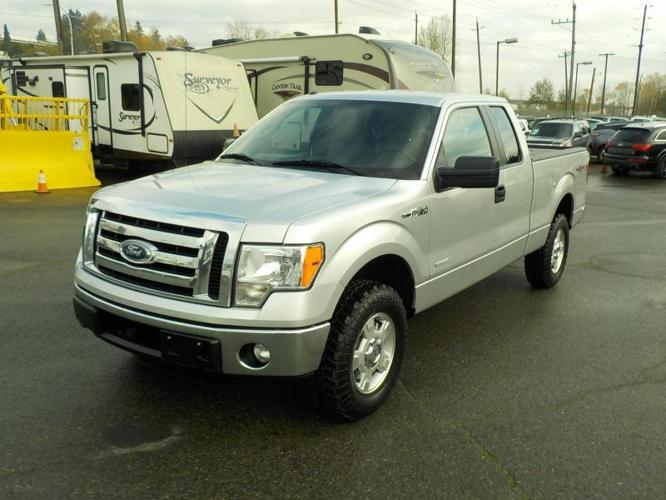 2011 Ford F-150 XLT SuperCab 6.5-ft. Bed 4WD EcoBoost