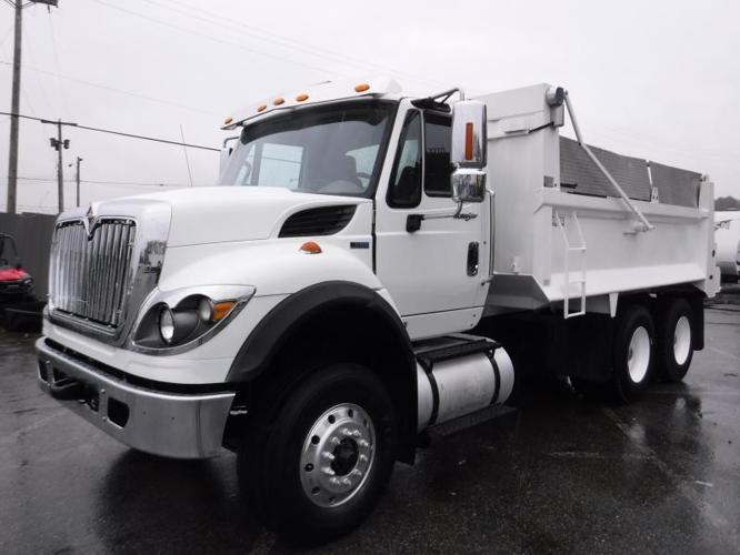 2012 International 7400 Dump Truck Diesel Air Brakes Tandem