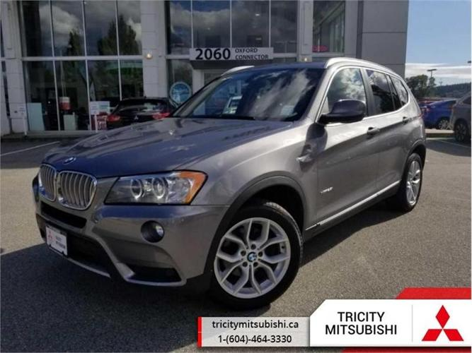 2014 BMW X3 AWD 4DR XDRIVE28I  NAVIGATION-PANORAMIC SUNROOF