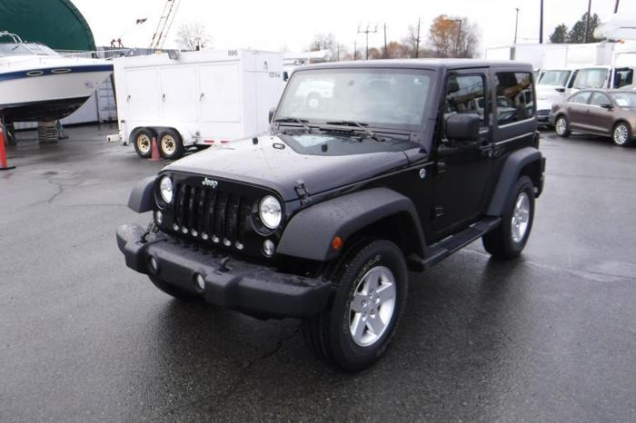 2014 Jeep Wrangler Sport 4WD Removable Hard Top