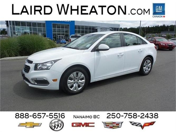 2015 Chevrolet Cruze 1LT w/ Back-Up Camera and 4G WiFi HotSpot