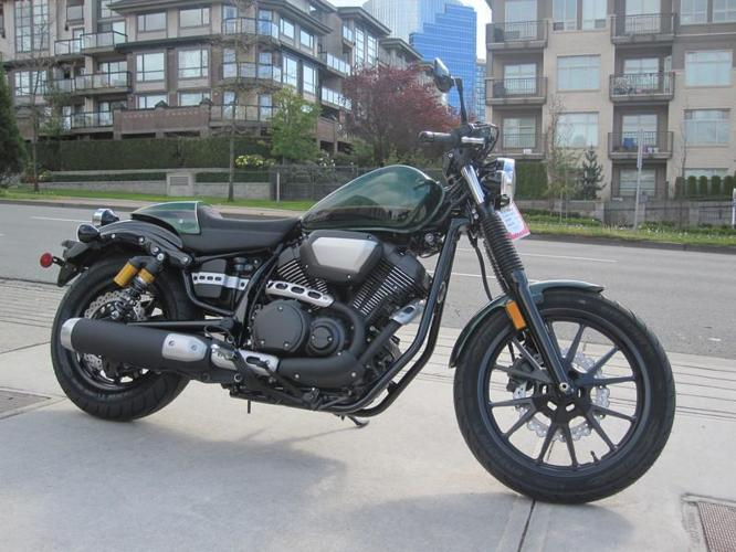 2015 Yamaha by Star Motorcycle Bolt C-Spec Cafe Cruiser Style Motorcycle