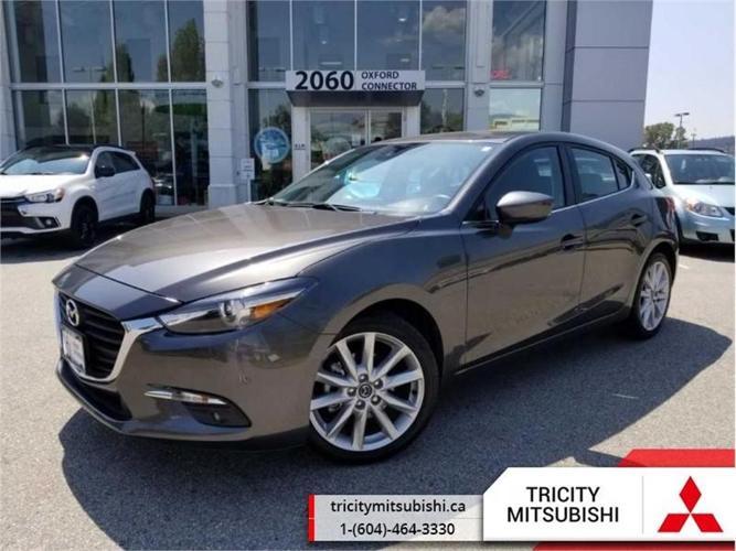 2017 Mazda Mazda3 GT  NAVIGATION-SUNROOF-BACK UP CAMERA