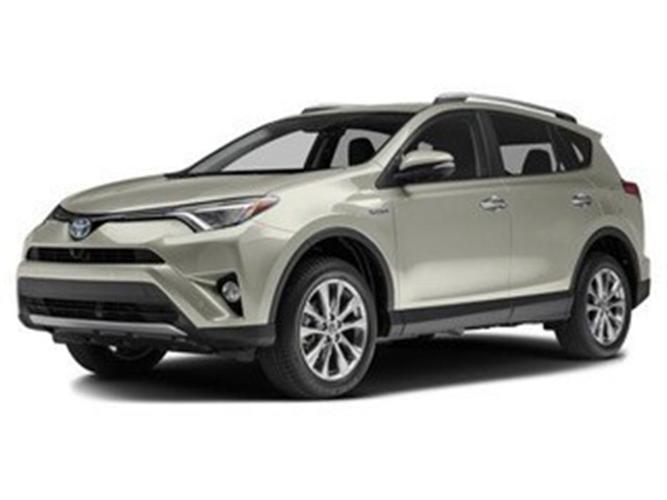 2017 Toyota Rav4 Limited AWD No Accidents Local B.C.