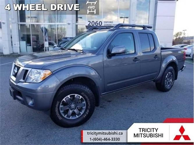 2018 Nissan Frontier PRO-4X  NAVIGATION-SUNROOF-LEATHER