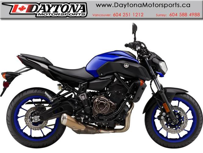 2018 Yamaha MT-07 ABS Sport Motorcycle  * Pre-order Now! *