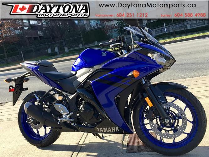 2018 Yamaha YZF R3 ABS Sport Motorcycle  * Motorcycle Show Bonus!! *