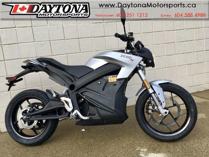 2018 Zero S ZF 7.2 CT  Electric Sport Motorcycle * $2000 EV Rebate!! *