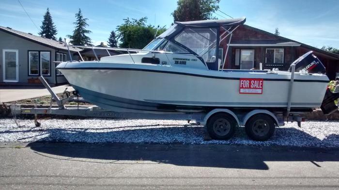 21 ft boat