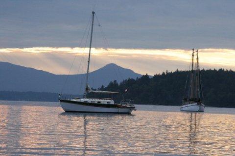 31.5 foot Golden Hind masthead sloop