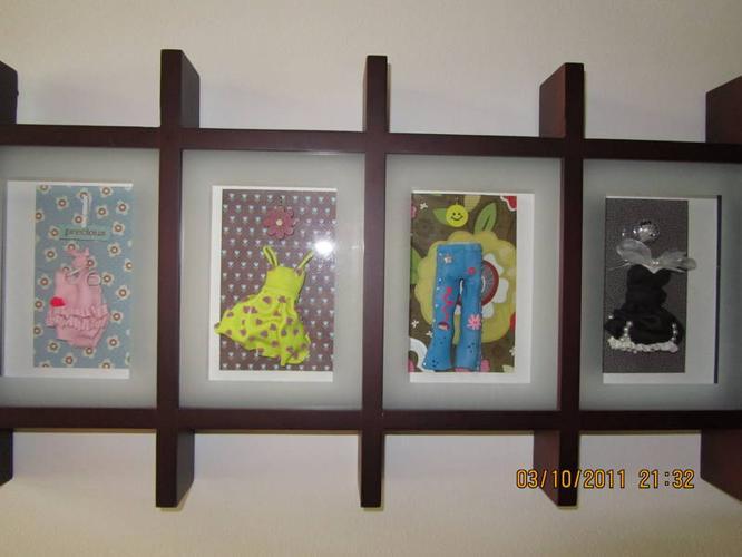 3D Framed Clay Art