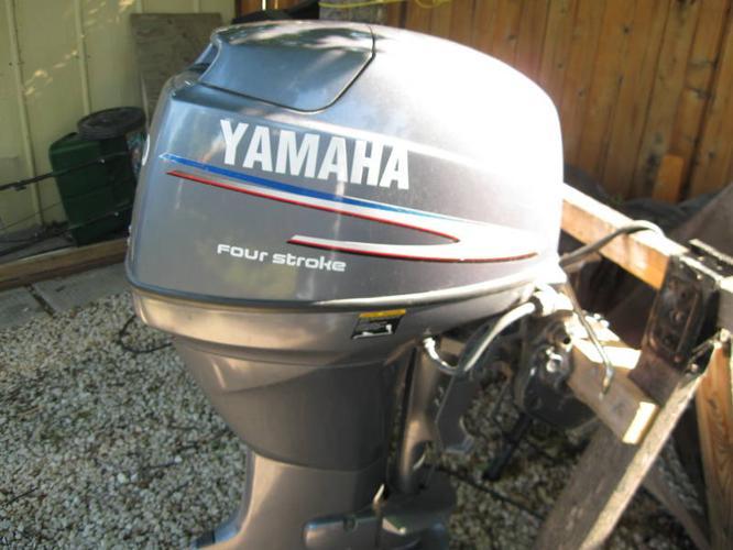 40 HP yamaha 4 stroke outboard