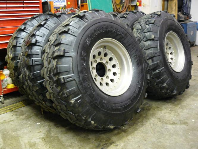 used 40 inch super swampers