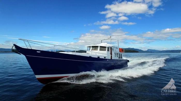 68 2014  Pilothouse  GYRO, Luxury Power Yacht Nanaimo BC