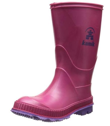 7T Girls Kamik Stomp Rain Boots NIB