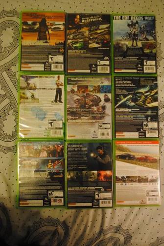 9 Xbox 360 Games! $5 - $20