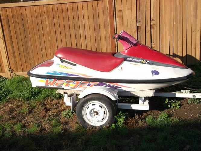 95 mastercraft kraze wetjet seadoo with trailer open to