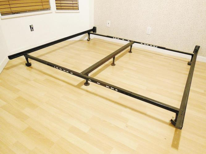 Adjustable Metal Bed Frame - Full Double to King