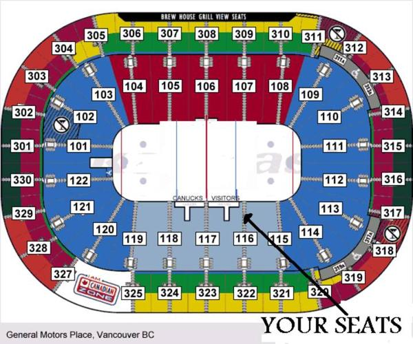 AFFORDABLE !!! Lower bowl by the Bench
