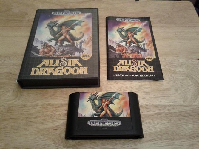Alisia Dragoon (CIB) for the SEGA Genesis