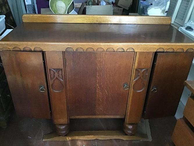 Antique buffet from England