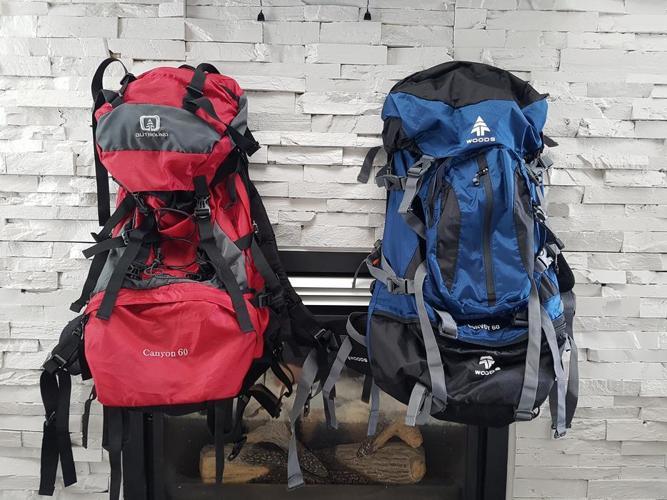 Backpacking equipment brand new