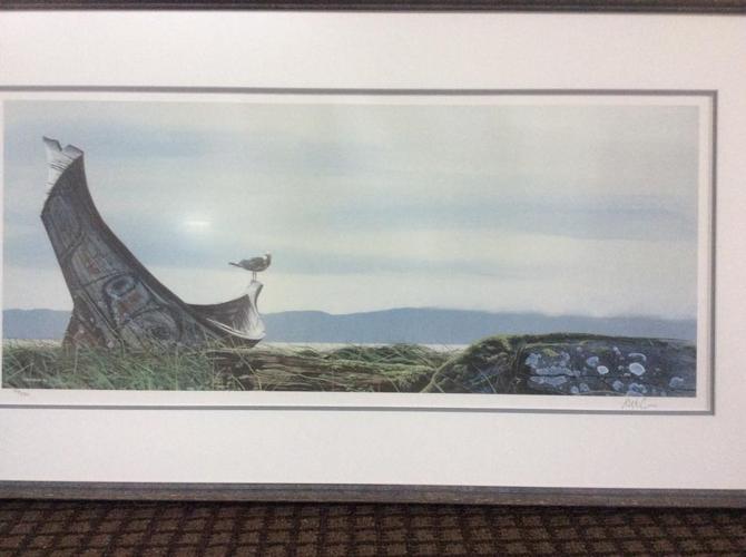 Beautiful print professionally framed